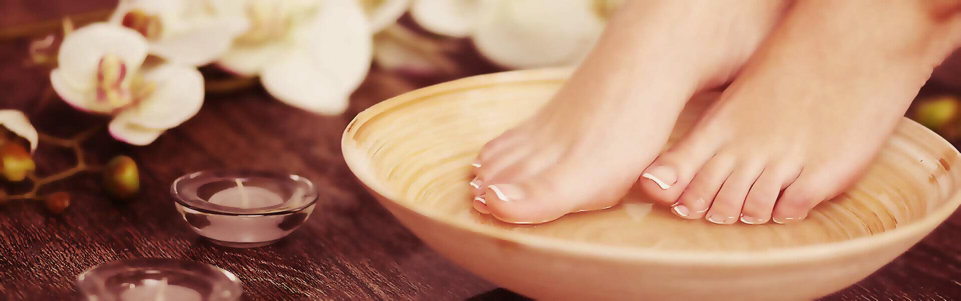 Fußpflege Header Bild